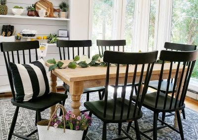 pine hollow hideaway dining table